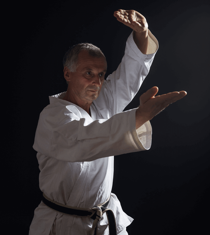 Martial Arts Lessons for Adults in Boscobel WI - Older Man