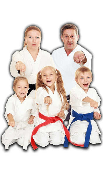 Martial Arts Lessons for Families in Boscobel WI - Sitting Group Family Banner