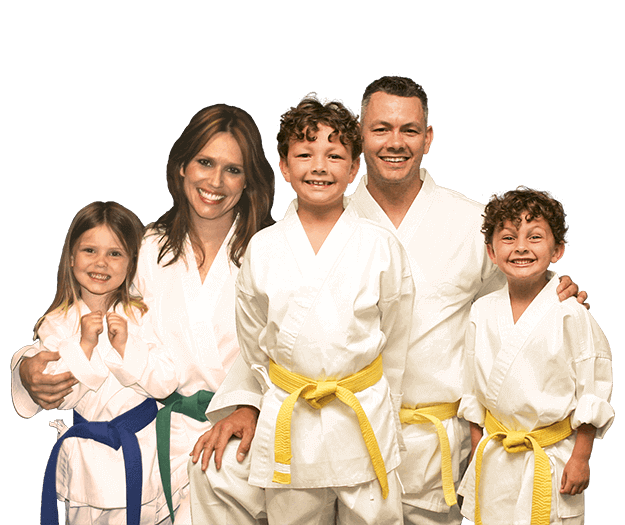 Martial Arts Lessons for Families in Boscobel WI - Group Family for Martial Arts Footer Banner