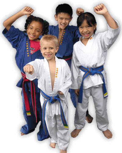 Martial Arts Summer Camp for Kids in Boscobel WI - Happy Group of Kids Banner Summer Camp Page
